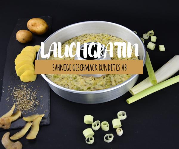 Lauch Kartoffelauflauf aus dem OMNIA