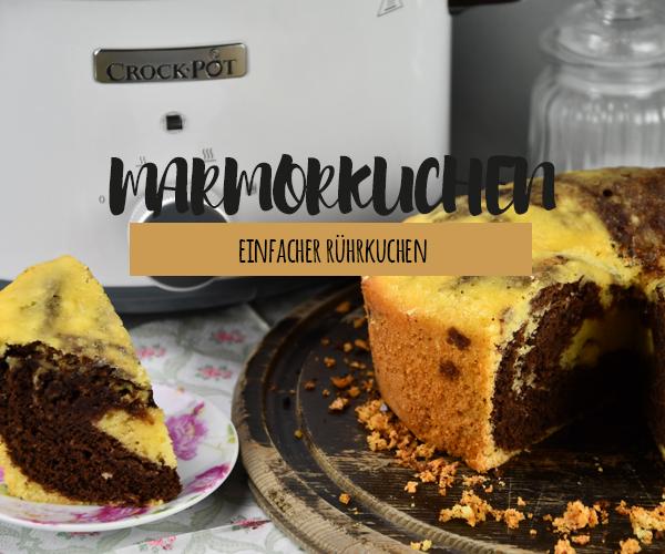 Marmorkuchen aus dem Crock Pot