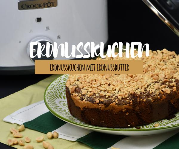 Erdnusskuchen aus dem Crock Pot