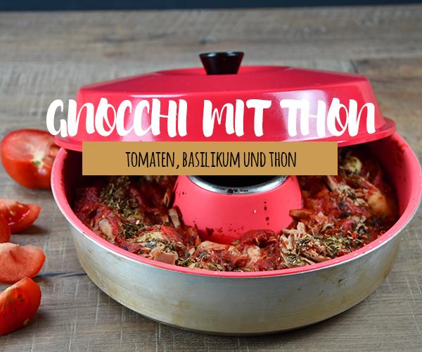 Gnocchi Auflauf mit Thon aus dem OMNIA Backofen