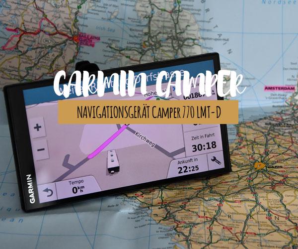 Navigationsgerät – Camper 770LMT-D