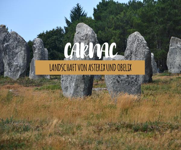 Carnac mit vielen vielen Steinen