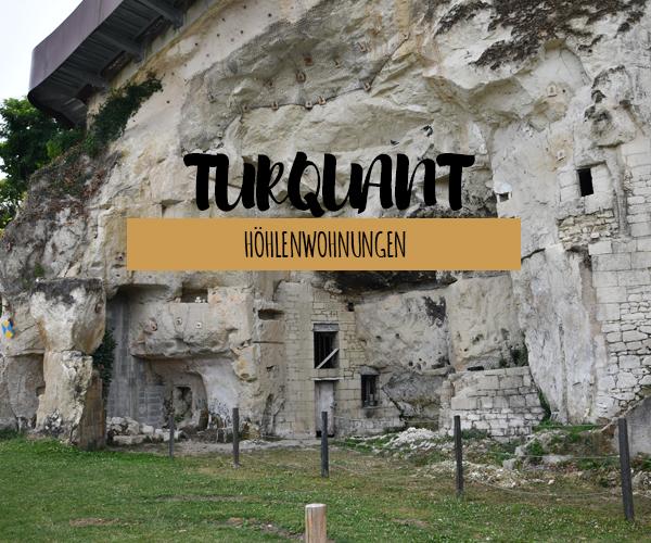 Turquant – gut erhaltene Höhlenwohnungen aus Kalkstein