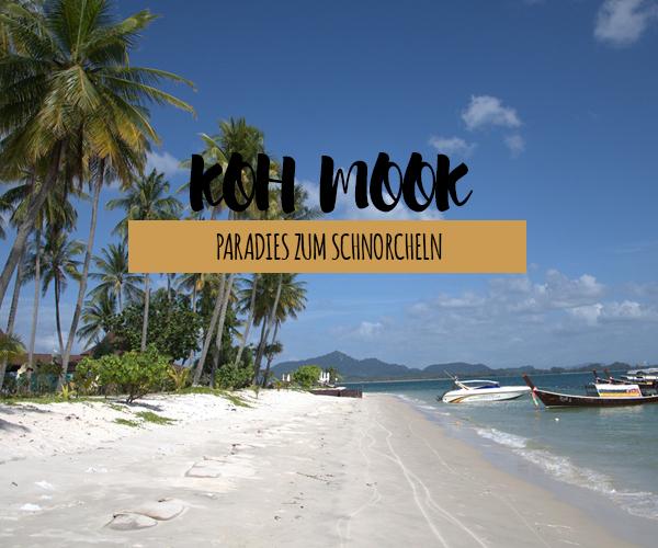 Relaxen und nichts tun auf Koh Mook