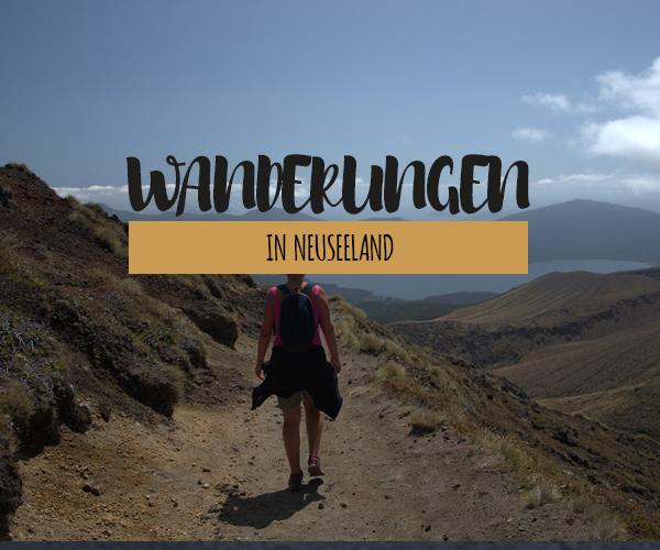 Wanderungen in Neuseeland: Unsere schönsten Wanderungen