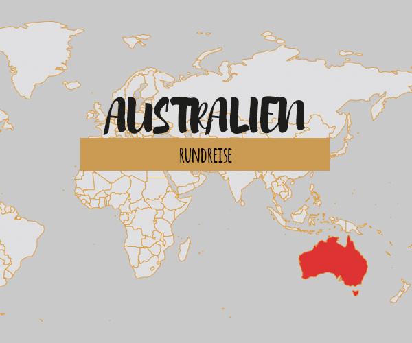 Australien Rundreise: sechswöchige Route an der Süd- & Ostküste