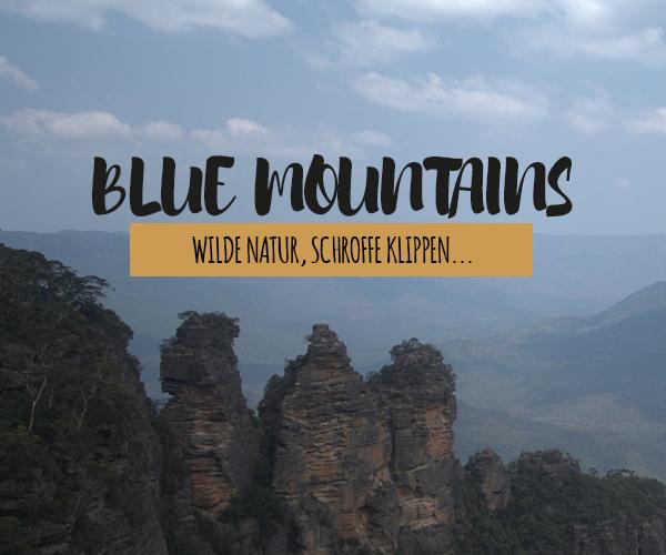 Blue Mountains trotz heftigen Waldbränden