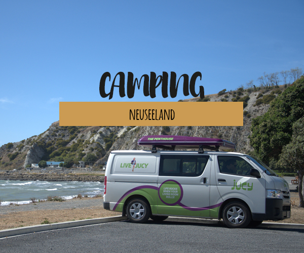 Mit dem Camper durch Neuseeland | Tipps zur Anmietung, Ausrüstung und Campingplätzen