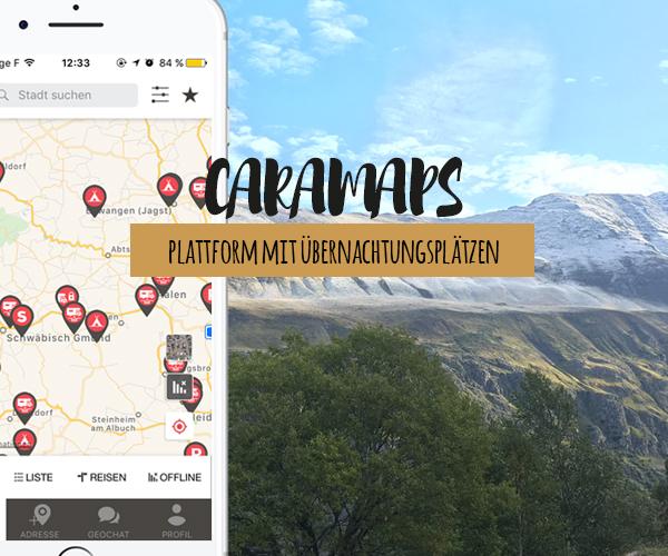 Kennst du die CaraMaps Plattform schon?