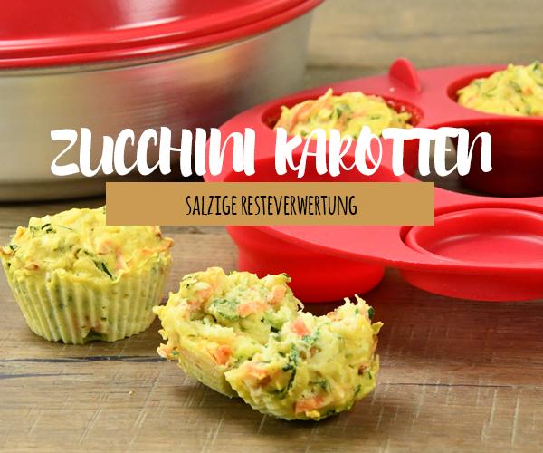 Zucchini Karotten Muffin