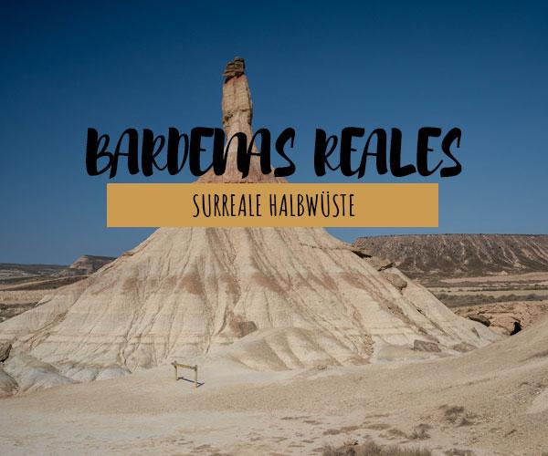 Navarra Bardenas Reales: die surreale Halbwüste im Norden von Spanien